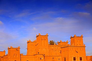 Kasbah Amerhidil, Skoura, Ouarzazate Region, Morocco, North Africa, Africa