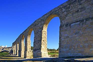 The 18th century Aqueduct, Larnaka, Cyprus, Eastern Mediterranean Sea, Europe