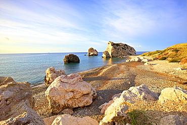Aphrodites Rock, Paphos, Cyprus, Eastern Mediterranean Sea, Europe