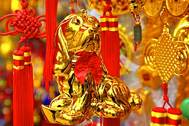 Chinese New Year decorations, Hong Kong, China, Asia