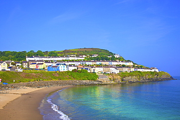 The Beach at New Quay, Cardigan Bay, Wales, United Kingdom, Europe