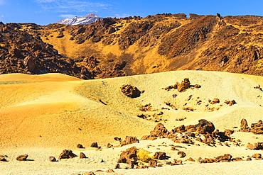 Pumice stone field, Teide National Park, UNESCO World Heritage Site, Tenerife, Canary Islands, Spain, Europe