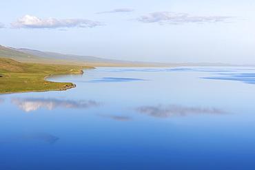 Song Kol Lake, Naryn province, Kyrgyzstan, Central Asia, Asia