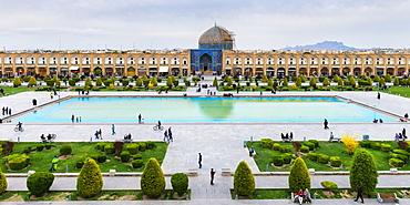 Sheikh Loftallah Mosque, Maydam-e Iman square, UNESCO World Heritage Site, Esfahan, Iran, Middle East