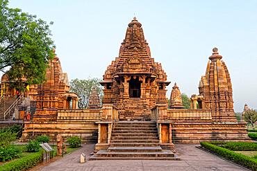 Lakshmana Temple, Khajuraho Group of Monuments, UNESCO World Heritage Site, Madhya Pradesh state, India, Asia