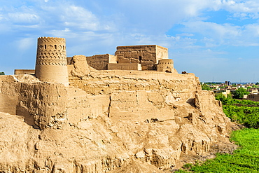 Narin Qaleh (Narin Ghaleh), Meybod mud-brick fortress, Meybod, Yazd Province, Iran, Middle East