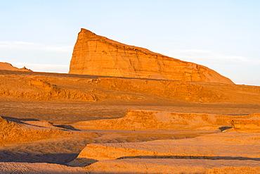 Dasht-e Lut (Lut Desert), Rock formations called Kalut, World's hottest place, Kerman Province, Iran, Middle East
