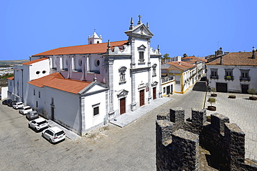 Beja Cathedral (Cathedral of St. James the Great), Lidador square, Beja, Alentejo, Portugal