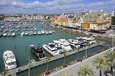 Vilamoura marina, Algarve, Portugal, Europe