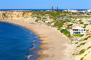 Mareta beach, Sagres, Vila do Bispo, Faro district, Algarve, Portugal, Europe