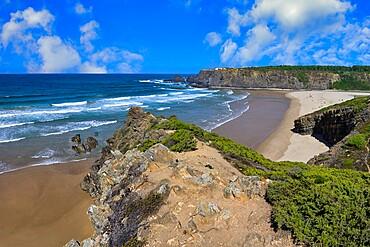 Odeceixe beach, Aljezur, Faro district, Algarve, Portugal, Europe