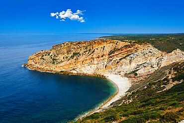 Espichel Cape and the Atlantic Ocean, Sesimbra, Lisbon Coast, Setubal, Portugal, Europe