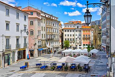 Plaza do Comercio square, Coimbra, Beira, Portugal