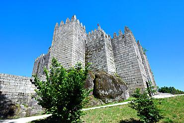 Historic castle, Guimaraes, Minho, Portugal