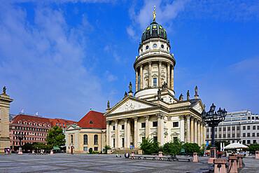 French Cathedral, Gendarmen square, Unter den Linden, Berlin, Germany