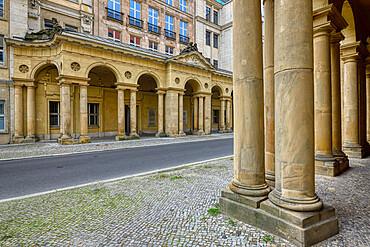 Mohren colonnade, Unter den Linden, Berlin, Germany