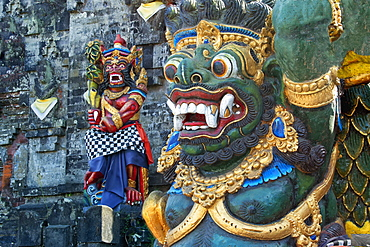 Statue, Pura Ulun Danu Batur temple, Bali, Indonesia, Southeast Asia, Asia