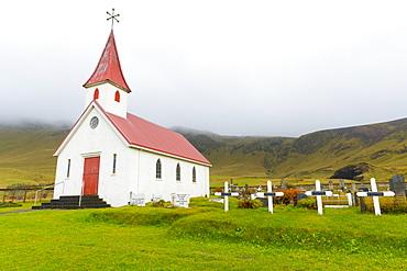 Reynis Church, near Vik, Iceland, Polar Regions