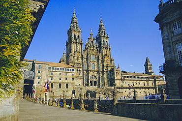 Cathedral, Santiago de Compostela, Galicia, Spain, Europe