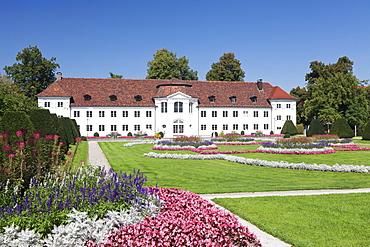 Orangery at Court Garden Hofgarten, Kempten, Schwaben, Bavaria, Germany, Europe