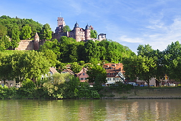 Burg Wertheim am Main, Wertheim, Main Tauber Kreis, Baden Wurttemberg, Germany, Europe