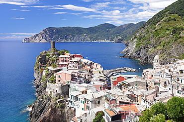 Vernazza, Cinque Terre, UNESCO World Heritage Site, Riviera di Levante, Provinz La Spazia, Liguria, Italy, Europe