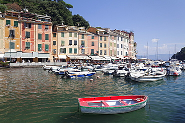 Harbour of Portofino, Riviera di Levante, Province of Genoa, Liguria, Italy, Europe