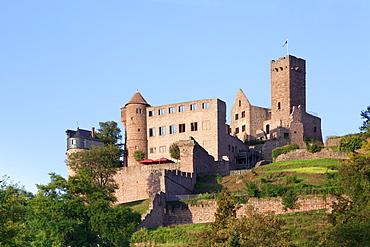Wertheim Castle, Wertheim, Main Tauber District, Baden-Wurttemberg, Germany, Europe