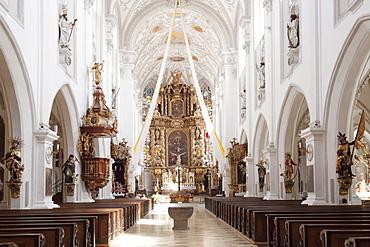 Stadtpfarrkirche Church, Landsberg am Lech, Bavaria, Germany, Europe