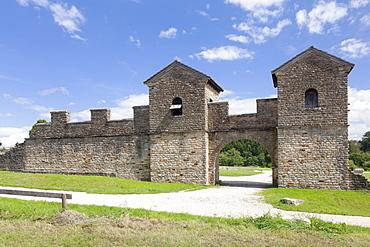 Ostkastell, Roman Fort, UNESCO World Heritage Site, Welzheim, Swabian Forest, Rems Murr District, Baden Wurttemberg, Germany, Europe