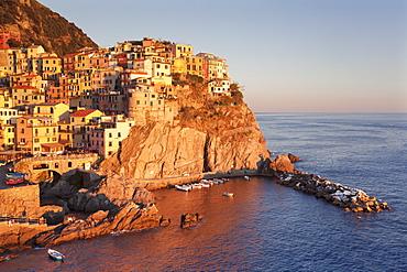 Manarola, Cinque Terre, UNESCO World Heritage Site, Rivera di Levante, Provinz La Spezia, Liguria, Italy, Europe