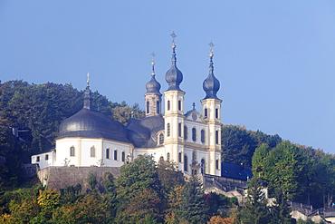Wallfahrtskirche Kappele Wurzburg, built by Balthasar Neumann, Wurzburg, Franconia, Bavaria, Germany, Europe