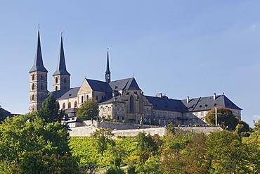 Kloster Michaelsberg Monastery, UNESCO World Heritage Site, Bamberg, Franconia, Bavaria, Germany, Europe