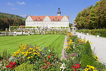 Weikersheim Castle,  Hohenlohe Region, Taubertal Valley, Romantische Strasse (Romantic Road), Baden Wurttemberg, Germany, Europe