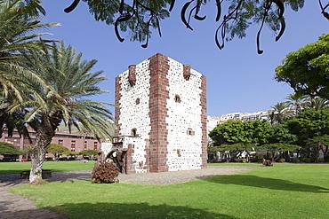 Torre del Conde Tower, San Sebastian, La Gomera, Canary Islands, Spain, Europe