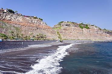 Playa de la Cueva beach, San Sebastian, La Gomera, Canary Islands, Spain, Atlantic, Europe