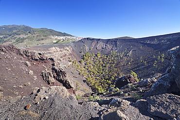 San Antonio Volcano, Monumento Natural de los Volcanes de Teneguia, Fuencaliente, La Palma, Canary Islands, Spain, Europe