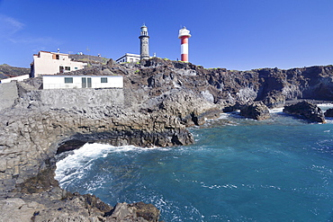 Faro de Fuencaliente lighthouses, Punta de Fuencaliente, La Palma, Canary Islands, Spain, Atlantic, Europe