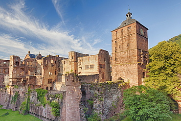 Castle, Heidelberg, Baden-Wurttemberg, Germany, Europe