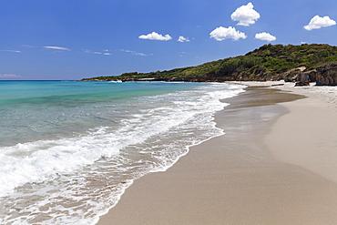 Baia dei Turchi beach, near Otranto, Lecce province, Salentine Peninsula, Puglia, Italy, Mediterranean, Europe