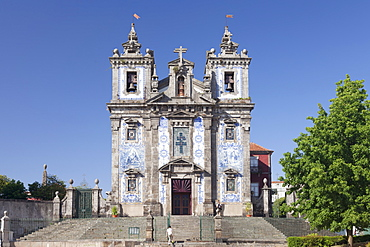 San Ildefonso church, Praca da Batalha, Porto (Oporto), Portugal, Europe