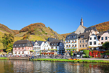 Beilstein on Moselle River, St. Joseph Church, Rhineland-Palatinate, Germany. Europe