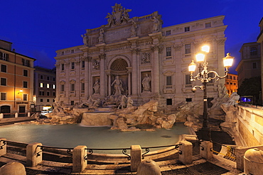 Trevi Fountain (Fontana di Trevi), Rome, Lazio, Italy, Europe