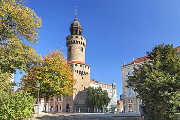 Historical-cultural Museum, Reichenbacher Turm Tower, Goerlitz, Saxony, Germany, Europe