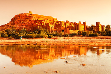 Kasbah Ait-Benhaddou, UNESCO World Heritage Site, Atlas Mountains, Morocco, North Africa, Africa