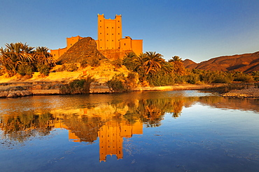 Ait Hamou ou Said Kasbah, Draa River, Draa Valley, Morocco, North Africa, Africa