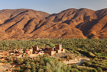 Ait Hamou ou Said Kasbah, Atlas Mountains, Draa Valley, Morocco, North Africa, Africa