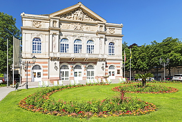 Theatre, Baden-Baden, Black Forest, Baden-Wurttemberg, Germany, Europe