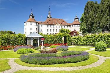 Schloss Langenburg Castle, Langenburg, Hohenlohe, Baden-Wurttemberg, Germany, Europe