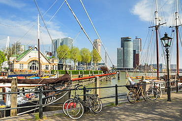 Veerhaven Port, Rotterdam, South Holland, Netherlands, Europe